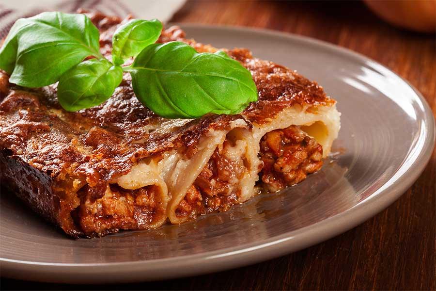 Cannelloni fatti in casa con carne e prosciutto cotto le ricette di scarlino