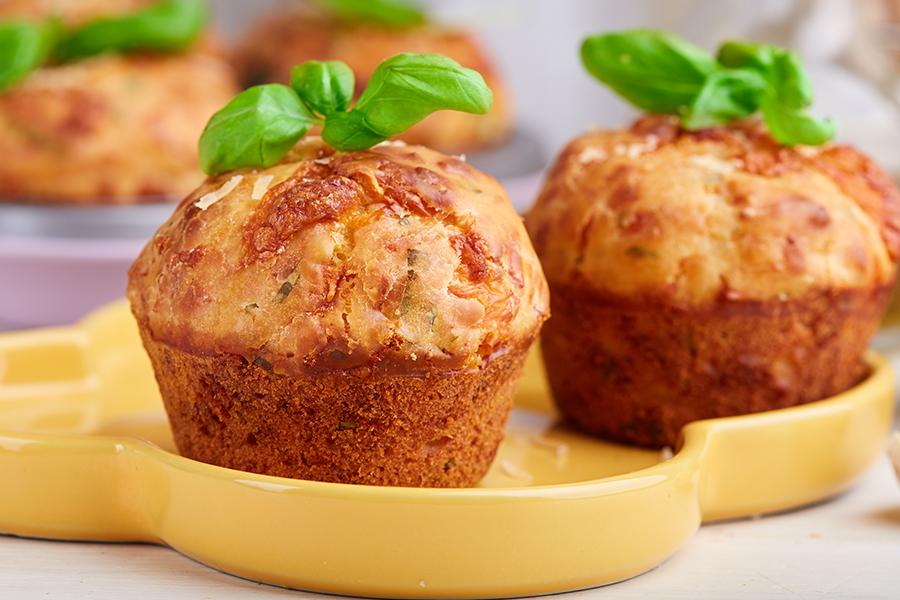 ricetta muffin al prosciutto cotto scarlino