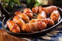 Ricetta bocconcini di wurstel Scarlino e pancetta